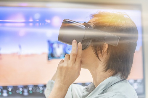 une animation team building en réalité virtuelle