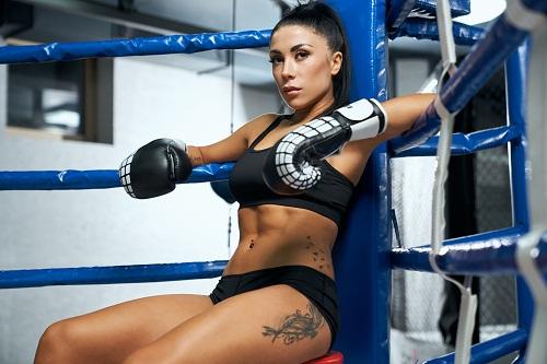 un ring de boxe